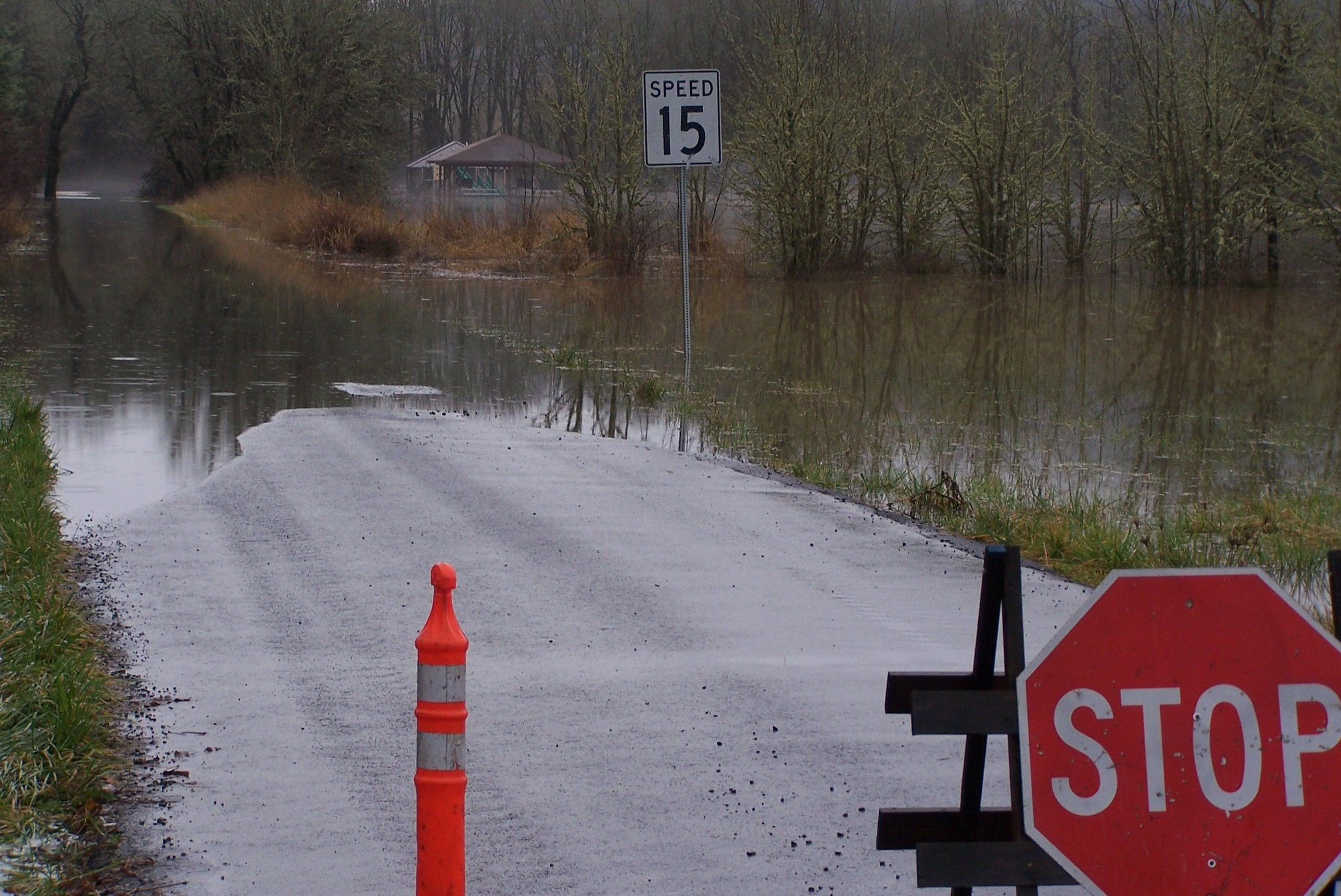 Flood Alert Announced On The Marys River Benton County