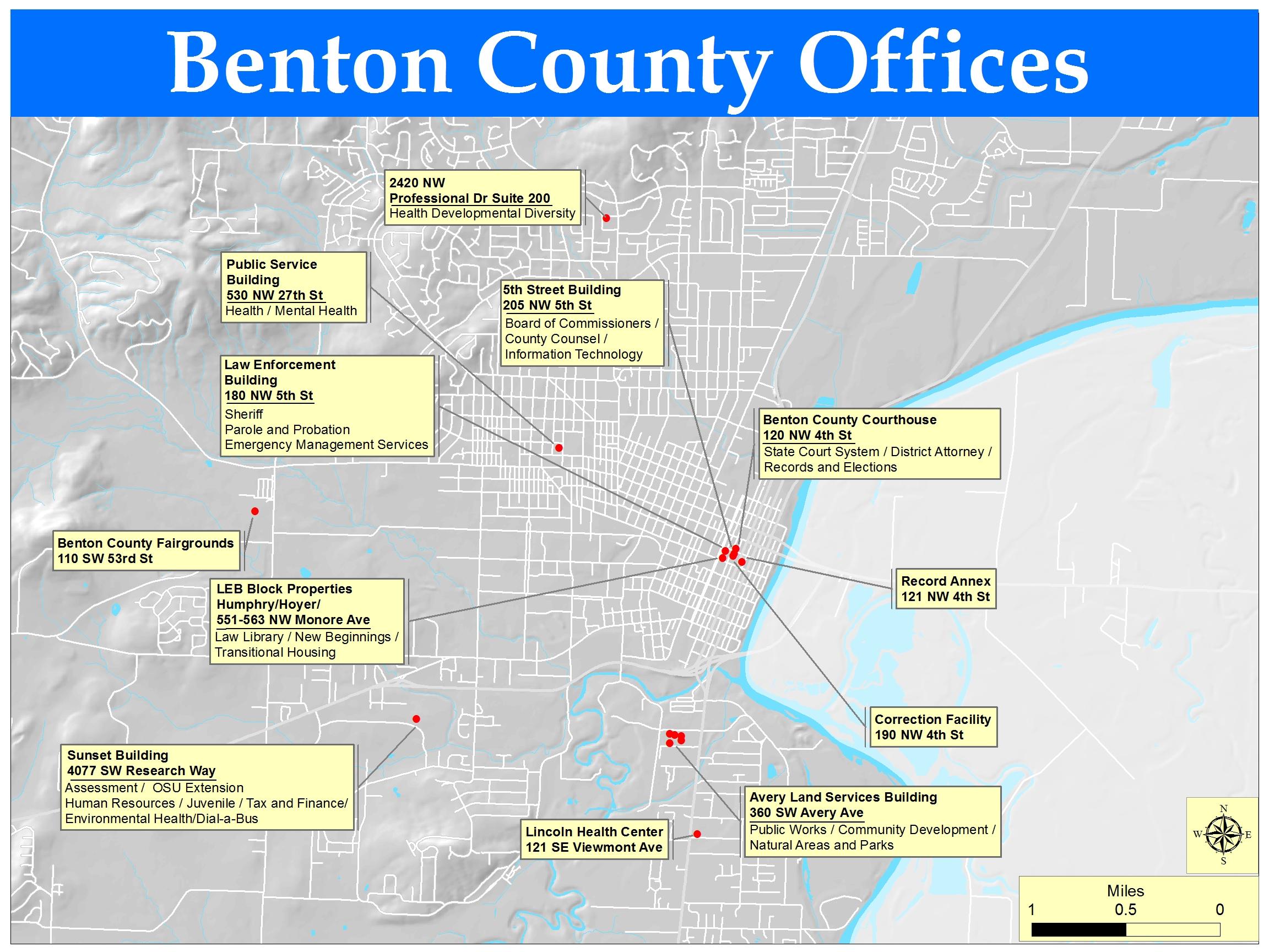 Facilities | Benton County Oregon