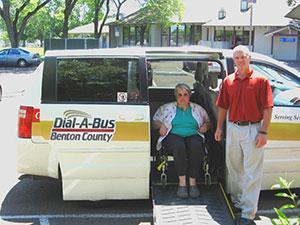 County Public Transportation Services Benton County Oregon