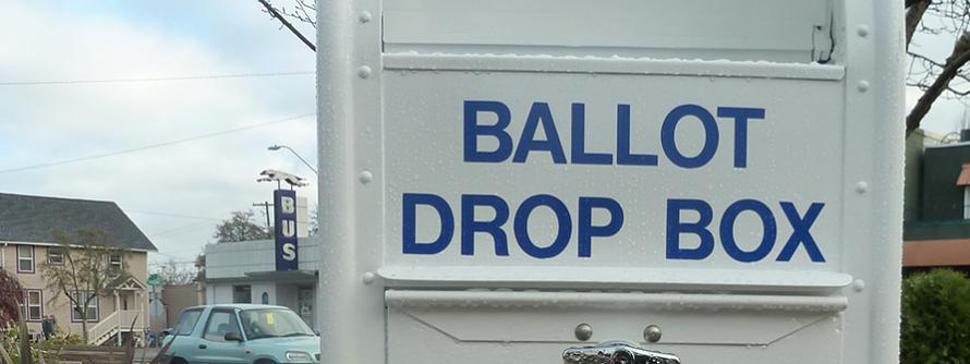 Picture of Ballot Drop Box