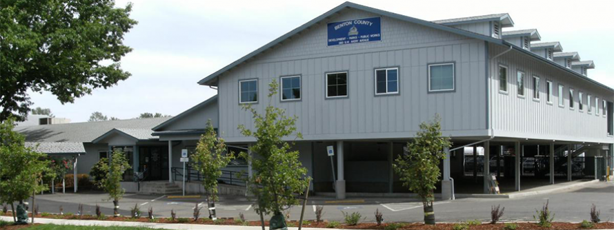 Front view of the renovated Avery Building
