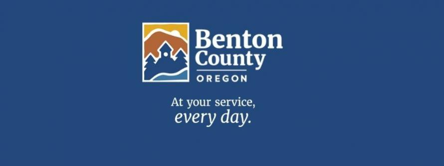 Benton County, Oregon. At your service, every day.