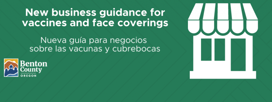 Updated face covering guidance for businesses
