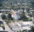 Aerial photograph of Benton County Courthouse