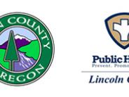 Benton County, Linn County, Lincoln County and Siletz Tribes logos