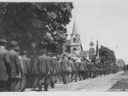 Circa 1908 Photo of encampment of Grand Old Army reunion