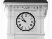 Photo of Benton County Courthouse Clock Face Number Two