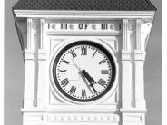 Photo of Benton County Courthouse Clock Face Number Three