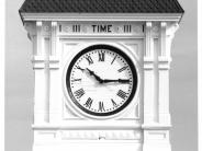 Photo of Benton County Courthouse Clock Face Number Four