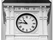 Photo of Benton County Courthouse Clock Face Number One