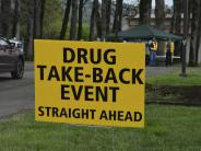 BCSO collects over 1,000 pounds of unwanted medications at Drug Take Back Event.