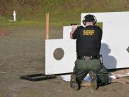Firearms training.