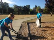BCSO staff participate in the United Way Day of Caring.