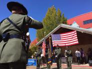 BCSO Honor Guard at the Chili Cook-Off.