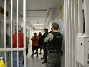 BCSO Citizens' Academy class visits the jail.