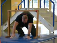 BCSO Deputy completes the Oregon Physical Abilities Test (ORPAT).