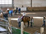 Benton County Sheriff's Mounted Posse sponsors Special Needs Ride.