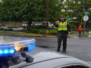Reserve Deputies provide traffic control at CARDV run.