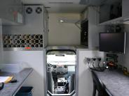 Inside Mobile Command Unit
