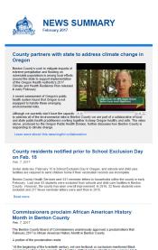 February 2017 News Summary thumbnail