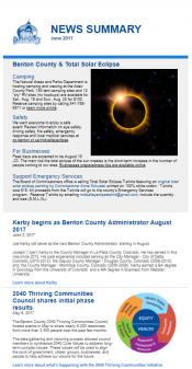 May/June 2017 News Summary thumbnail
