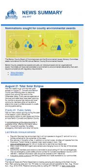 July 2017 News Summary thumbnail
