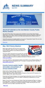 April 2018 News Summary thumbnail