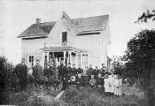 Frantz-Dunn House, Hoskins, Oregon, ca. 1869