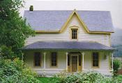 Frantz-Dunn House, Hoskins, Oregon, October 1997