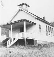Soap Creek School, ca. 1940