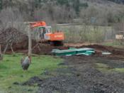 New Septic Sewage System
