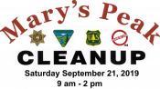 Marys Peak cleanup
