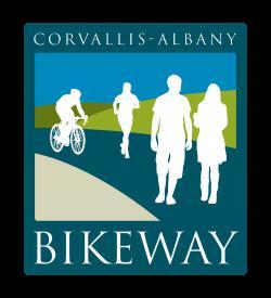 Corvallis-Albany Bikeway Logo