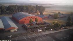 Benton County Fairgrounds aerial image showing facilities