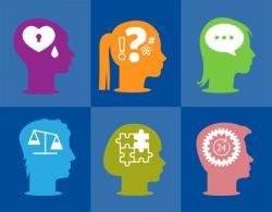 Mental health icons