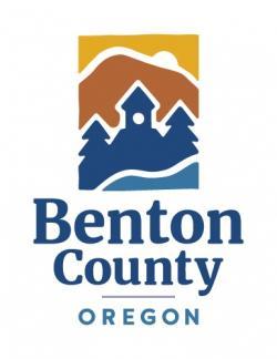 Vertical Benton County logo