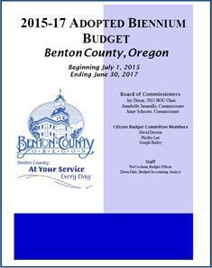 2015-17 Benton County Adopted Biennium Budget