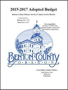 2015-17 BCLCSD Adopted Budget