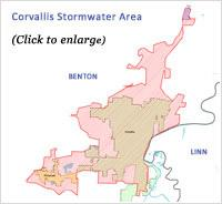 Stormwater Area Map
