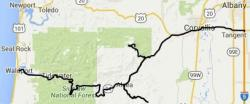 Hwy 34 Scenic Byway Map