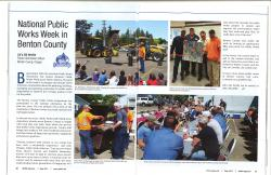 APWA Public Works Week - Benton County, Oregon