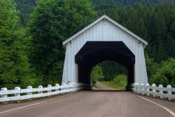 Hayden Covered Bridge, Alsea, OR