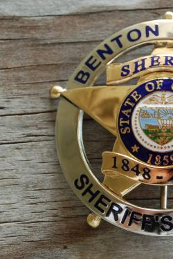 BCSO Commemorative Badge