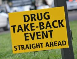Drug Take Back Sign