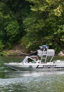 BCSO Marine Deputies patrol the Willamette River.
