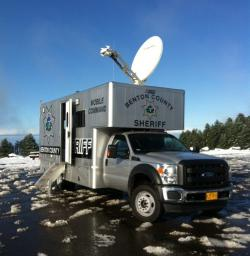 BCSO Mobile Command Unit