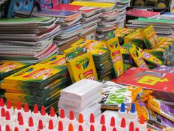 School Supplies Donated by Deputies