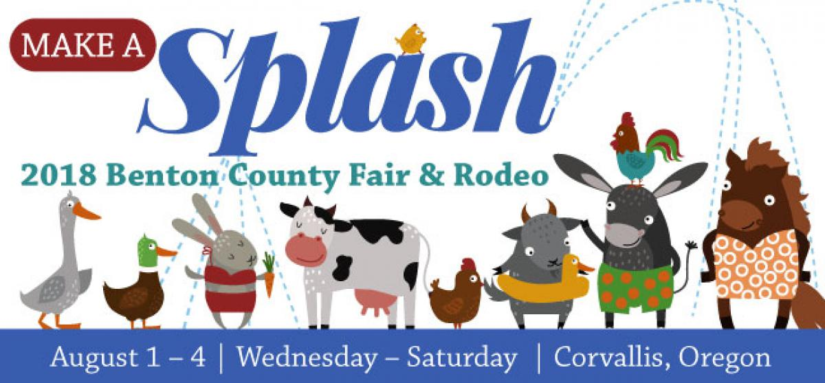 Make a splash at the 2018 Benton County Fair & Rodeo