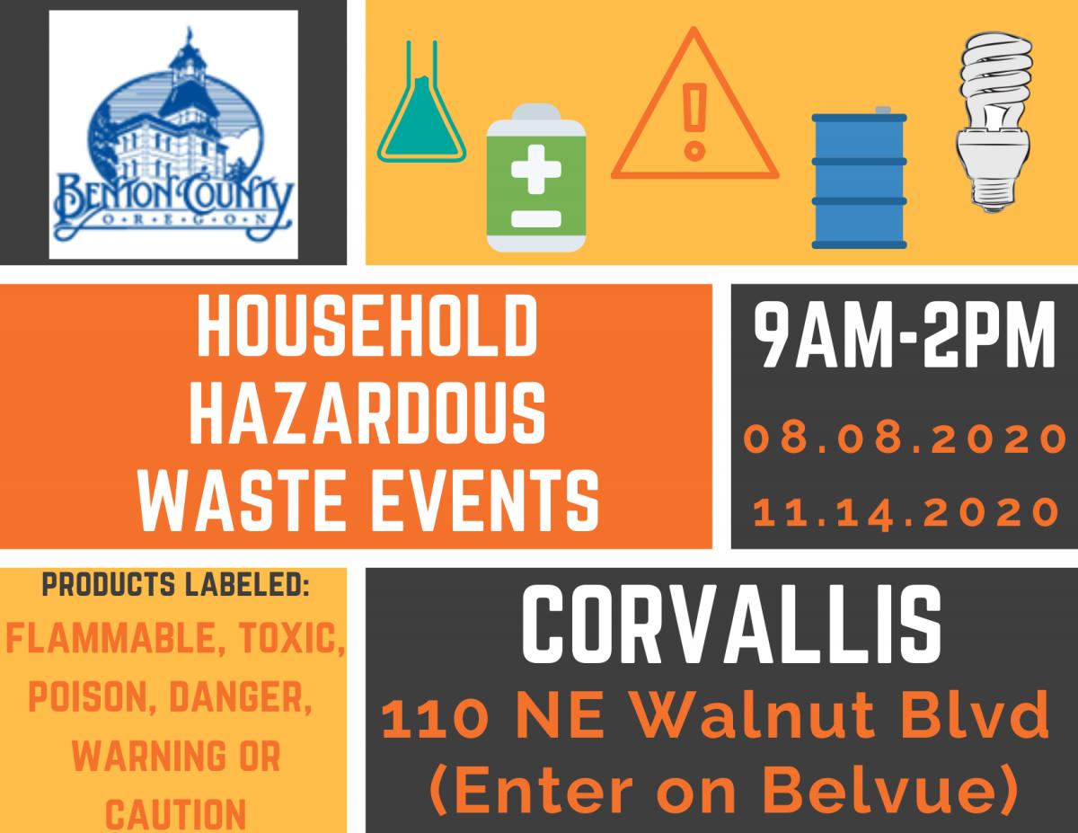 Household Hazardous Waste Events