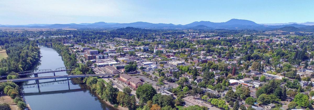 View of Benton County